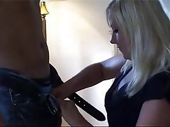 Blonde, Blowjob, Cumshot, Nerd, Facial