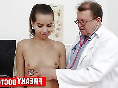 Old and Young, Teen, Czech, Brunette