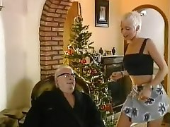 Babe, Blonde, Blowjob, Old and Young
