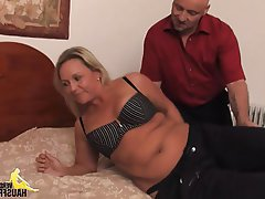 Big Boobs, Blonde, Cumshot, German