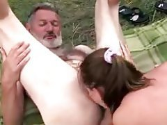 Blowjob, Cum in mouth, Cumshot, Old and Young