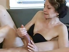Blowjob, Handjob, Old and Young, Granny