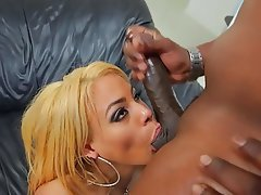 Big Boobs, Blonde, Cumshot, Facial, Interracial