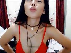 Webcam, Asian, Orgasm, Asian, Dildo