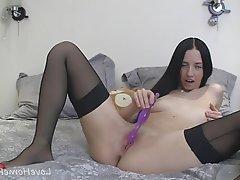Amateur, Anal, Stockings, Homemade