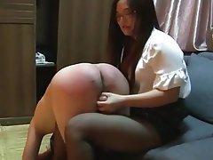 Asian, BDSM, Femdom, Spanking, Chinese