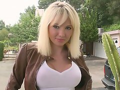 A gorgeous big titted russian babe beauty big tits blonde