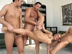 Anal, Big Tits, Blonde, Cumshot