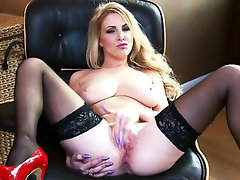Babe, Big Tits, Panties, Squirt