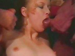 Double Penetration, Group Sex, Hairy, Interracial, Vintage
