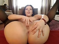 Big Boobs, Masturbation, Webcam