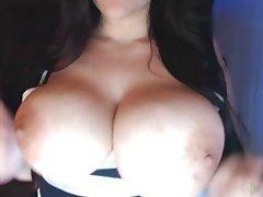 BBW, Big Boobs, Big Butts, Brunette, Webcam