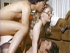 Double Penetration, Group Sex, Swinger, Threesome, Vintage