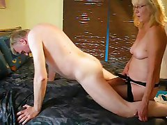 Cumshot, Old and Young, Anal, German