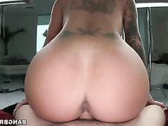 Big Ass, Blowjob, Cumshot, Handjob, Lesbian