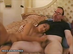 Amateur, Asian, Handjob, Old and Young, POV