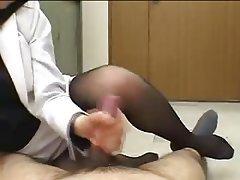 Asian, Foot Fetish, Handjob, Japanese