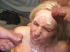 Big Boobs, Blonde, Cumshot, Facial